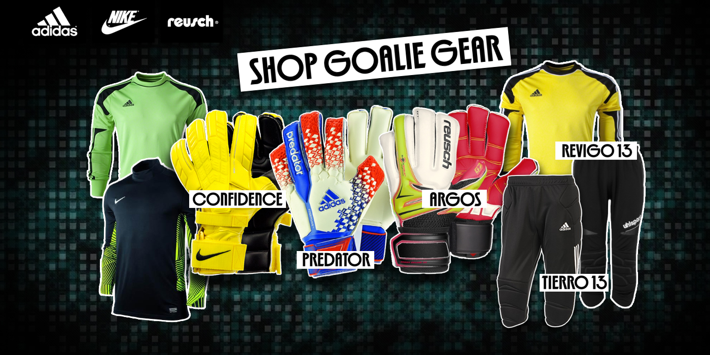 SHOP GOALIE GEAR